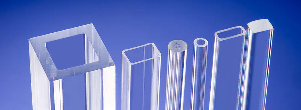 square & rectangular glass tube